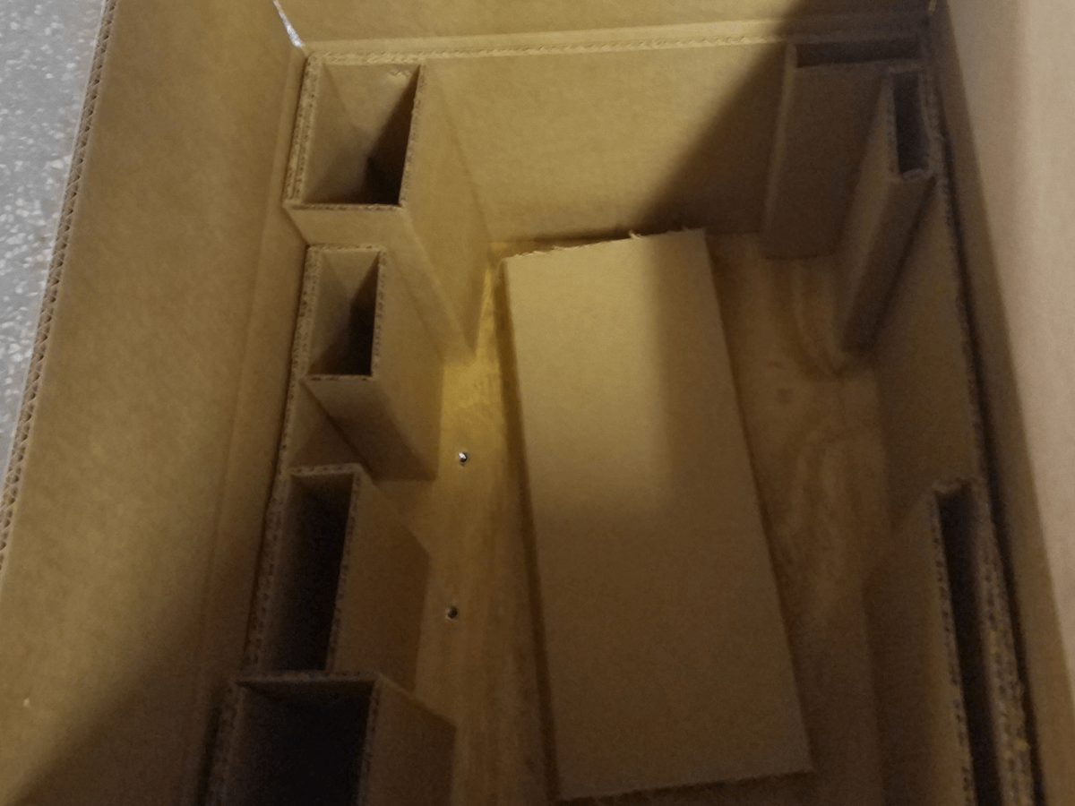 Corrugated Box with Inserts