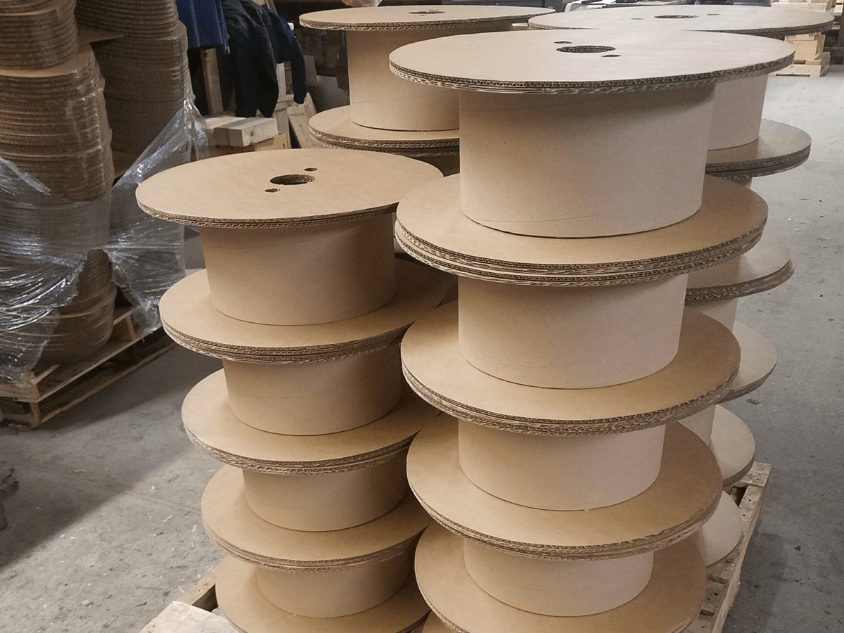 Corrugated-reels